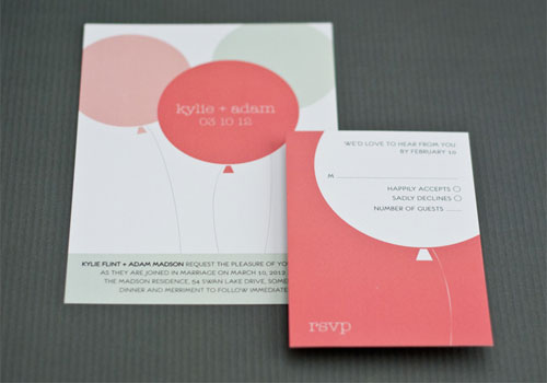 Papertalk Press Wedding Invitations