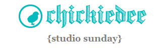 Chickiedee Studio Sunday