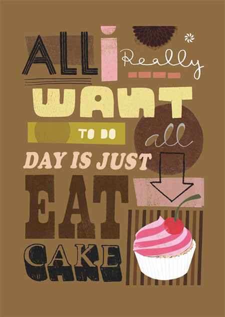 Cake Giclee Print