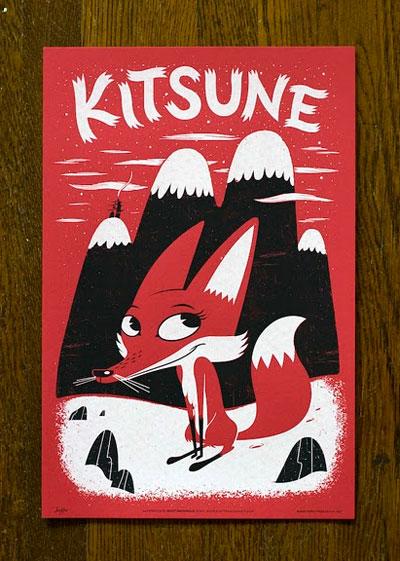 Kitsune Poster