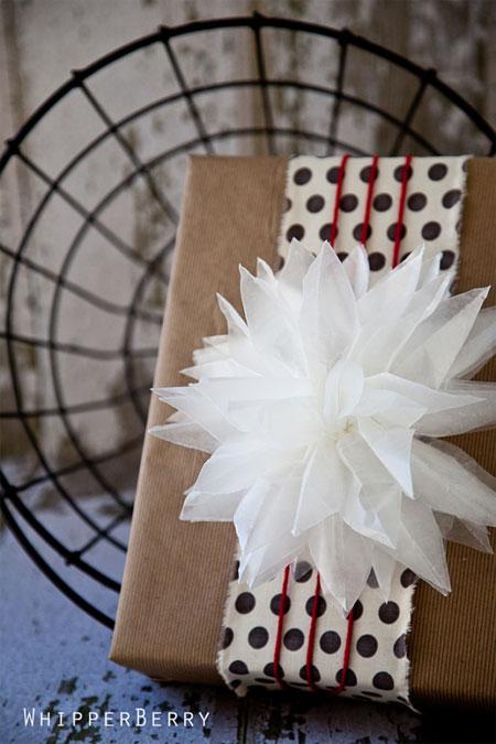 Waxed Paper Flower