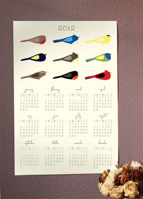 2012 Calendar JolieJolie