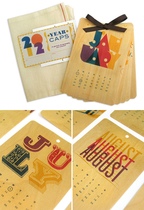 Heather Lins Typography Calendar