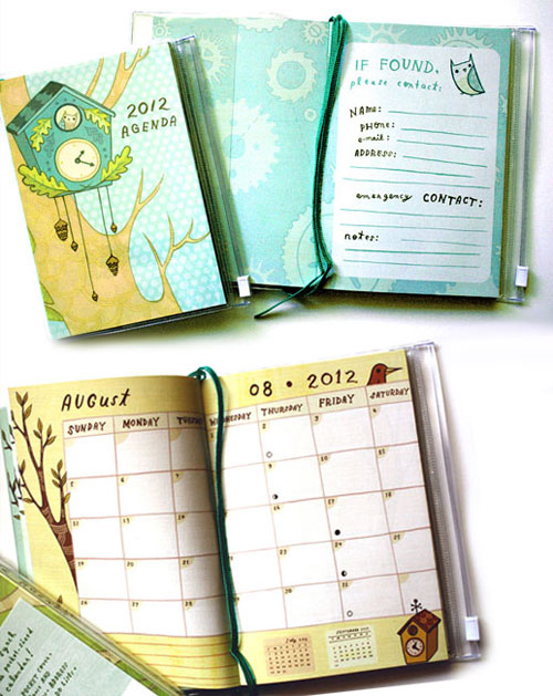 Boygirlparty 2012 Pocket Planner