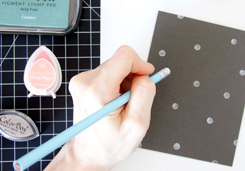 Confetti Envelope Card Craft