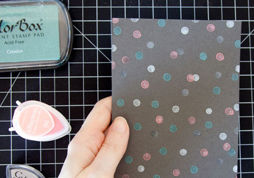 Stamped Confetti Card