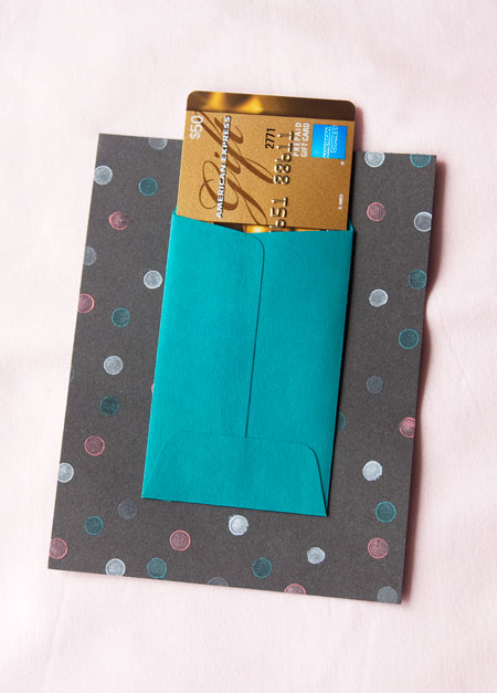 Confetti Mini Envelope Cards