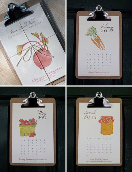 Farm Stand Calendar