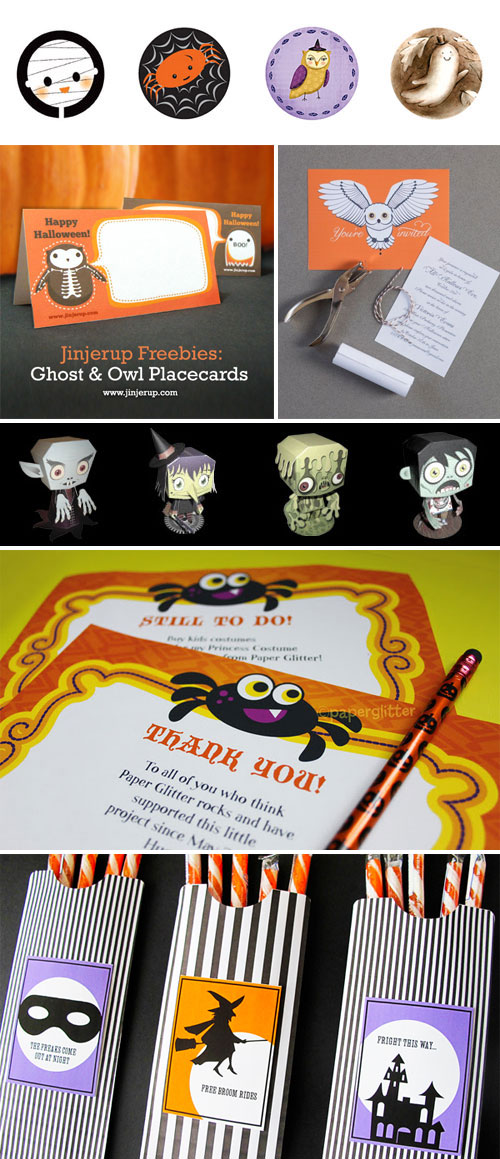 Free Printable Halloween Goodies