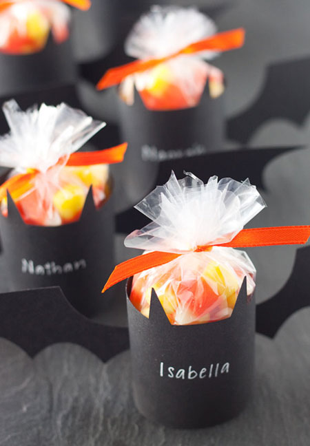Halloween Bat Treat Holders