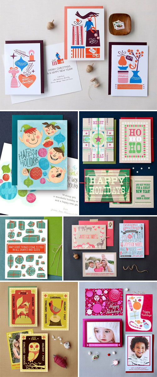 Hello! Lucky Holiday Cards