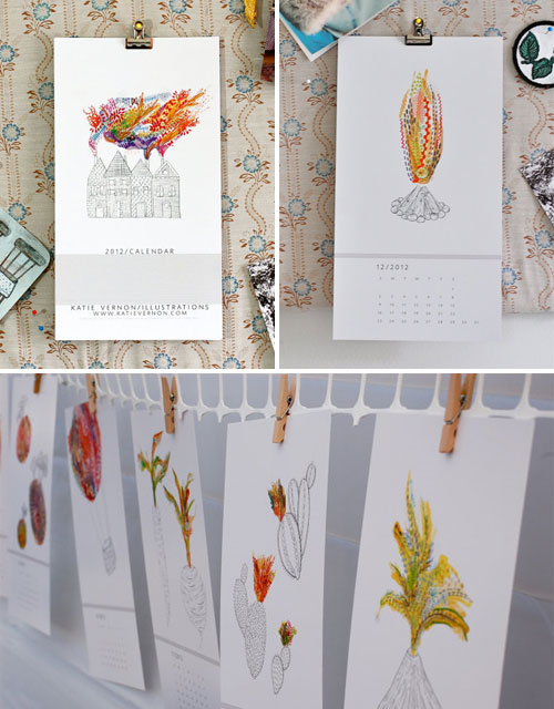 Katie Vernon 2012 Illustration Calendar