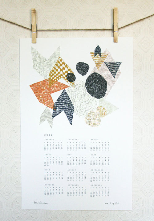 Leah Duncan Geometric Calendar