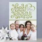 Merry Ribbon Holiday Photo Cards