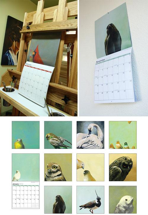 Mincing Mockingbird Calendar