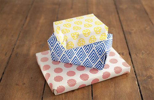 Modern Patterned Wrapping Paper
