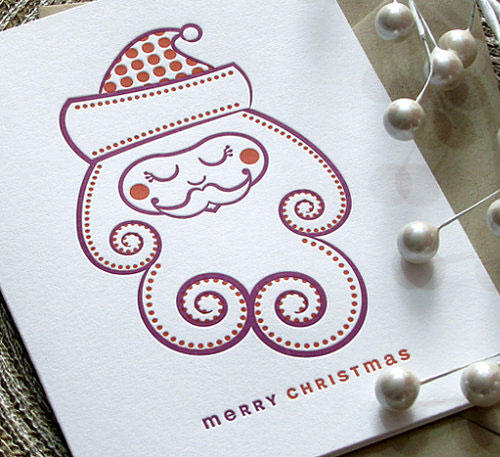A Letterpress Christmas Sweet Harvey