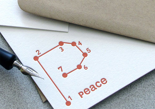 Peace Connect the Dots Cards