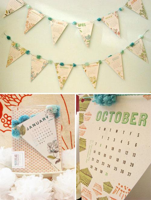 Banner Calendar Cat Seto