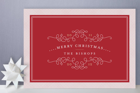 classic collage holiday cards