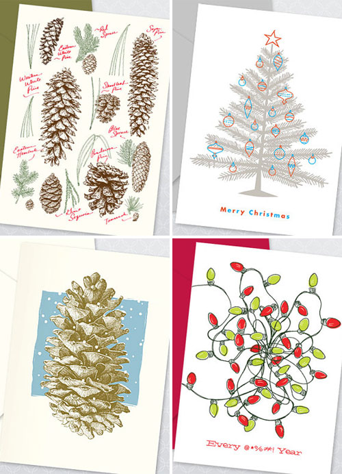 Echo Letterpress Holiday Cards