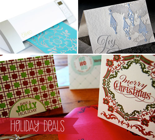 Holiday Paper Goods Deals