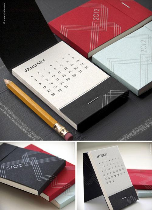 Inkello Matchbook Calendars