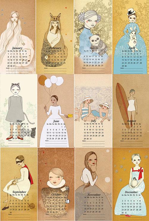 Irena Sophia Calendar