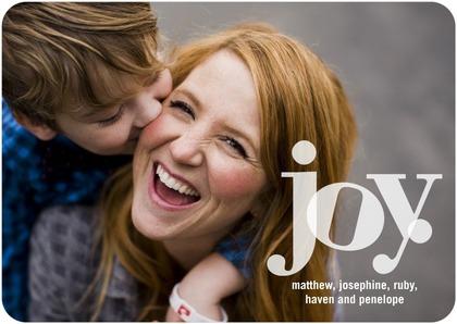 Joyful Highlights Holiday Photo Cards