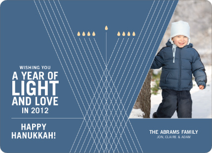 Light and Love Hanukkah Photo Cards