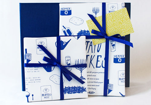 Hanukkah Wrapping Paper