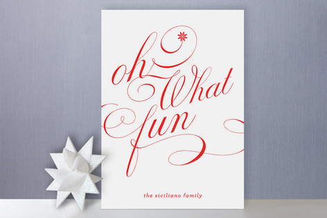 Oh What Fun Holiday Cards by Carrie O'Neal