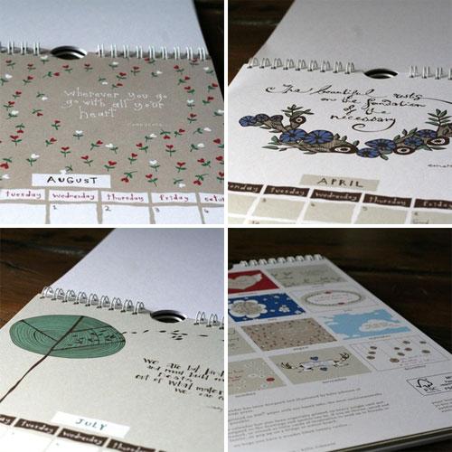 Paper Boat Press Calendar
