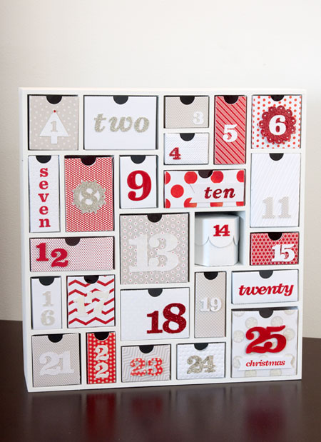 Silhouette Advent Calendar