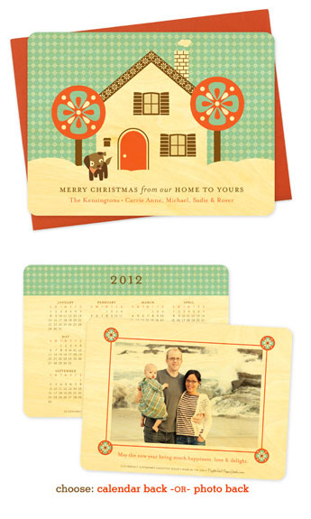 Snowy Home Holiday Cards