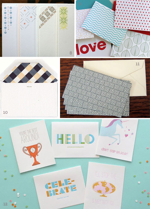Stationery Note Cards Holiday Gift Ideas