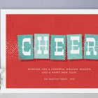 Swanky Holiday Cards