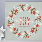 Weathered Wreath Holiday Cards