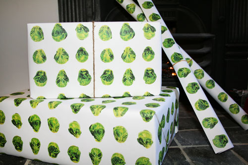 Brussels Sprouts Gift Wrap