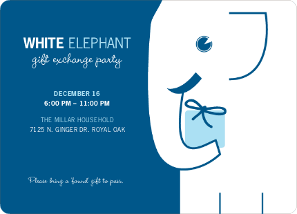 Elephant Party Invitations – Elephant Party Invitations