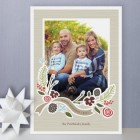 Wintry Pine Holiday Photo Cards