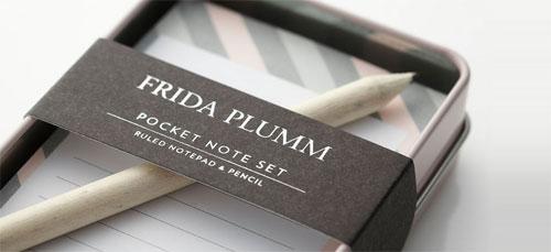 Frida Plumm Stationery