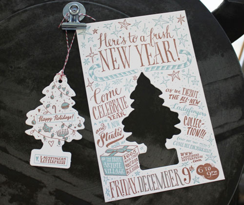 Holiday Air Freshener Party Invitations