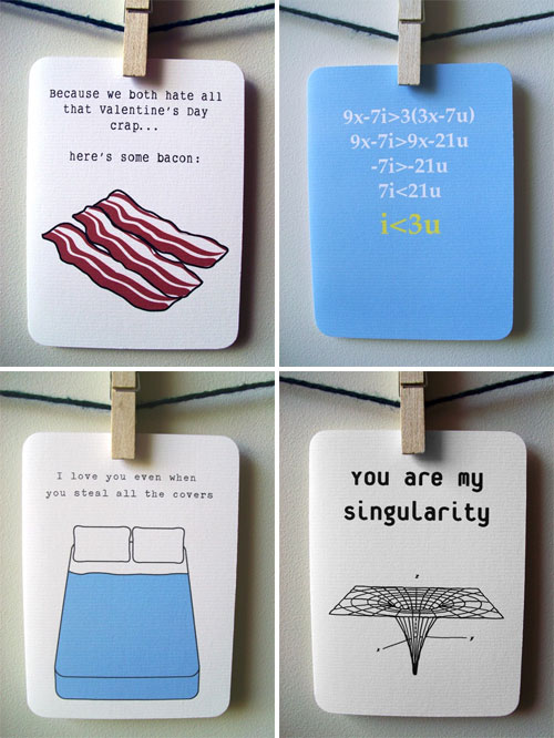 Fun Nerdy Love Cards