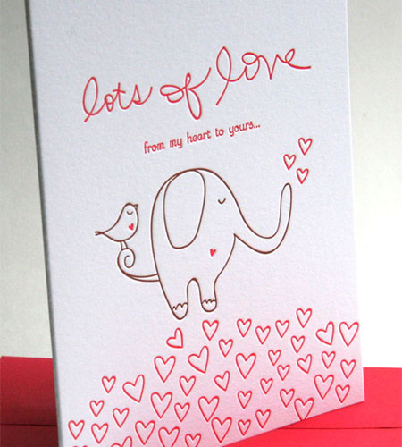 Deluce Design Valentine's Day Card