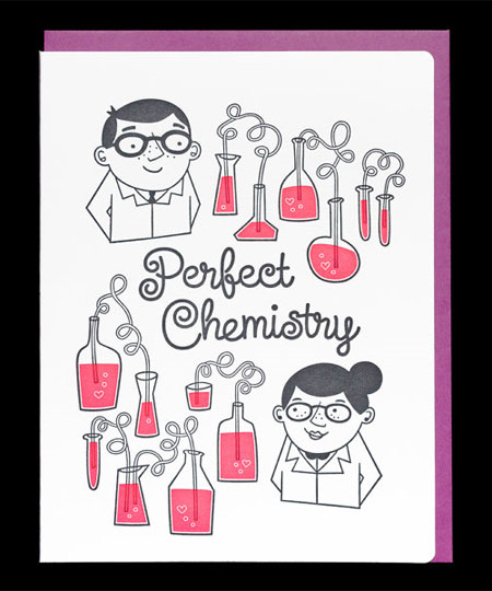 Perfect Chemistry Card