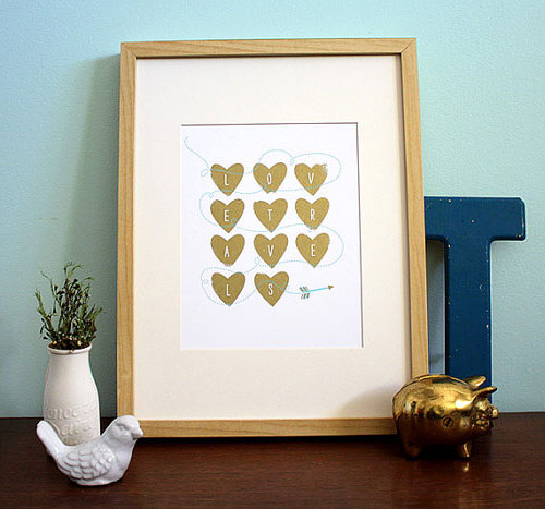 Love Travels Print