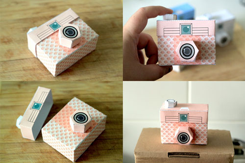image about Camera Printable referred to as Contemporary Printable Paper Cameras via Mel Stringer - Paper Crave