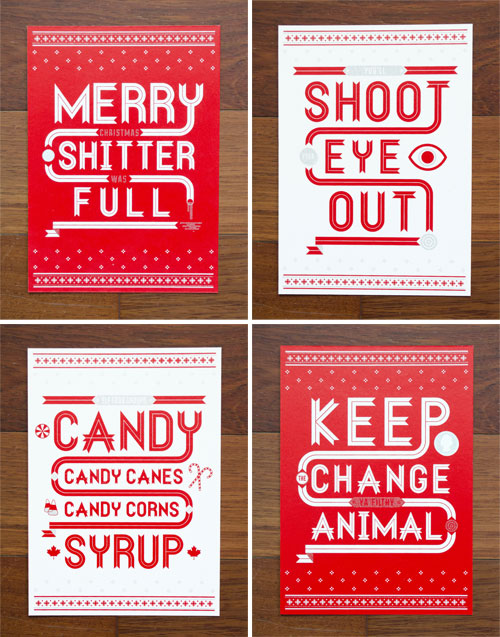 Holly Day Christmas Cards