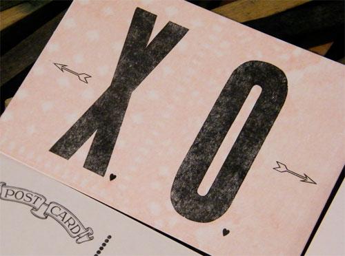 XO Postcard